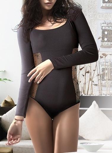 Miorre Agraflı Body Siyah